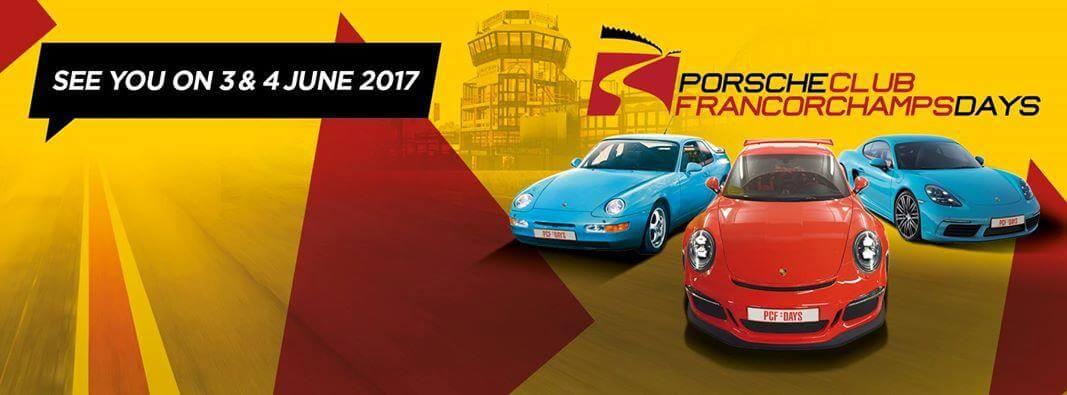 Porsche club Francorchamps