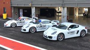 Les Porsche Class-Six vous attendent pour quelques tours de piste