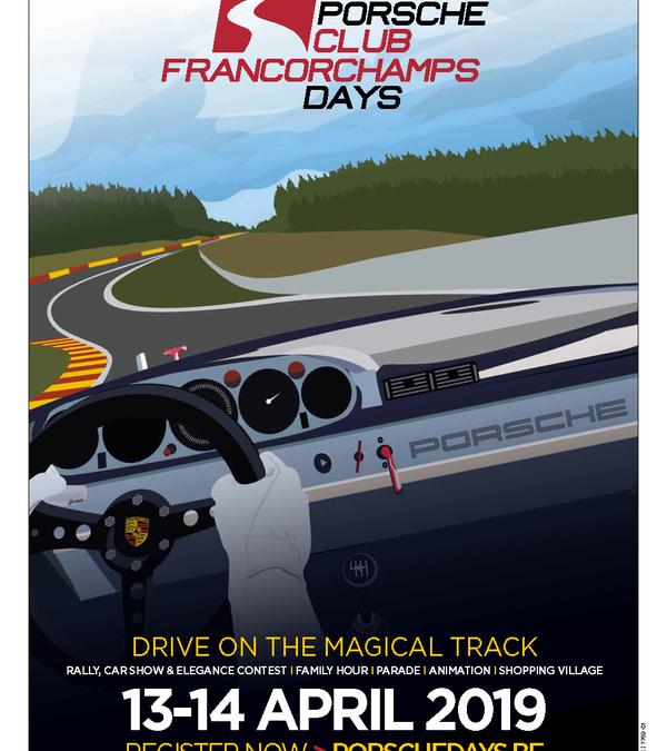 Rejoignez-nous aux Porsche Days les 13 & 14 Avril
