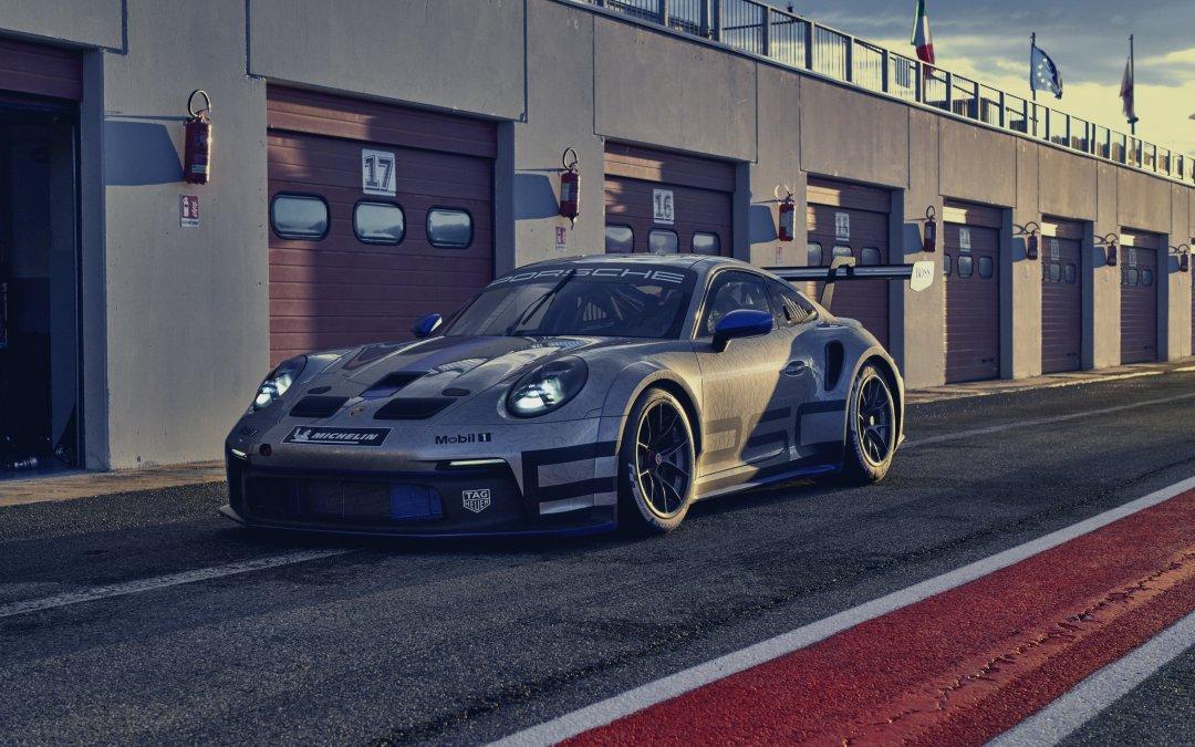 Plus forte, plus rapide, plus spectaculaire : la nouvelle 911 GT3 Cup